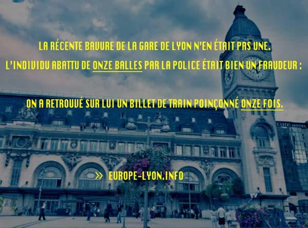 Nouvelles Actualités Lyon, France
